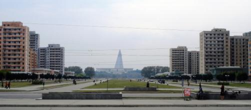 Pyongyang park, DPRK (via WikiCommons - by Kristoferb)