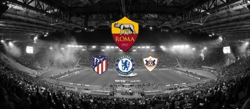 Roma nel girone con Atlético Madrid, Chelsea e Qarabağ