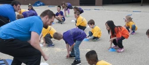 Tenniswood Elementary Play 60 Matthew Stafford Assembly & … | Flickr - flickr.com