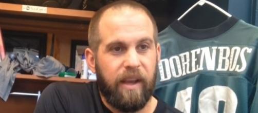 The Philadelphia Eagles trade long snapper Jon Dorenbos to the New Orleans Saints -- PennLive.com via YouTube