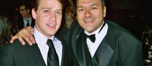 T.R.Knight and Greg Hernandez (Image Credit-greginhollywood/Flickr)