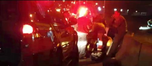 Vítima não resistiu aos ferimentos após ser arrastada por 2 km (foto: Reprodução/TV Globo)