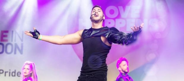 Alex Palmieri live al Gay Pride di Londra 2017