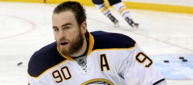 Buffalo Sabres' Ryan O'Reilly provided by Wikimedia Commons prior to game last season