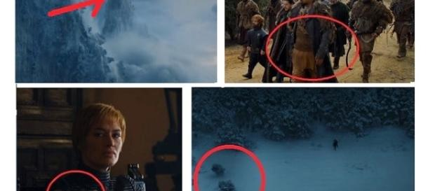 Details you might have missed in 'Game of Thrones' season 7 finale. Screencap: Kristina R, Jesus via YouTube