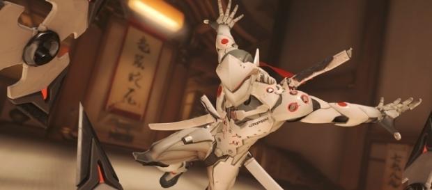 "Genji's ""Overwatch"" statue is amazing! Image Credit: Blizzard Entertainment"
