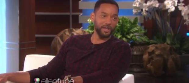 Will Smith Image courtsey TheEllenShow-YouTube