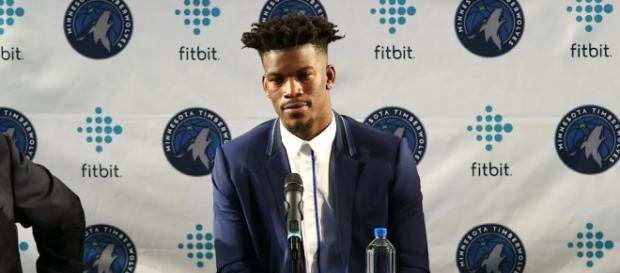 Jimmy Butler of the Minnesota Timberwolves (Image credit: Ximo Pierto/YouTube)