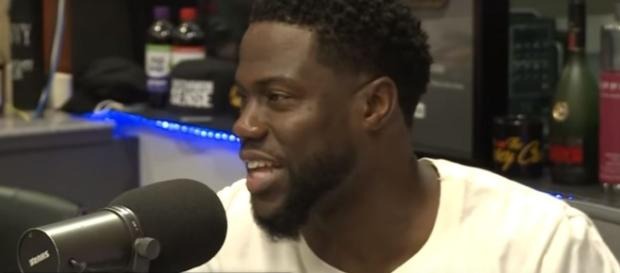 Kevin Hart challenges fellow stars to donate. Image[Breakfast Club Power 105.1 FM-YouTube]