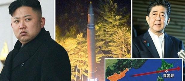 Kim Jong-un a lansat o nouă rachetă deasupra Japoniei, iar Japonia promite să riposteze - Foto: Daily Express (surse GETTY-Reuters)