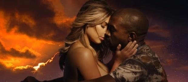 Kim Kardshian and Kanye West are reportedly splitting. Photo by KanyeWestVEVO/YouTube