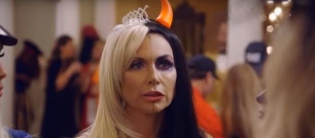 LeeAnne Locken's Halloween costume of a 'two-faced' Stephanie - Bravo/YouTube