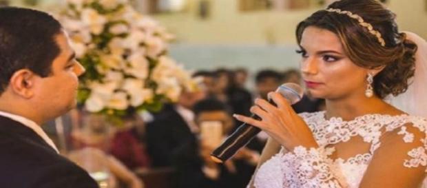 O que a noiva revelou deixou os convidados surpresos - Foto Reprodução