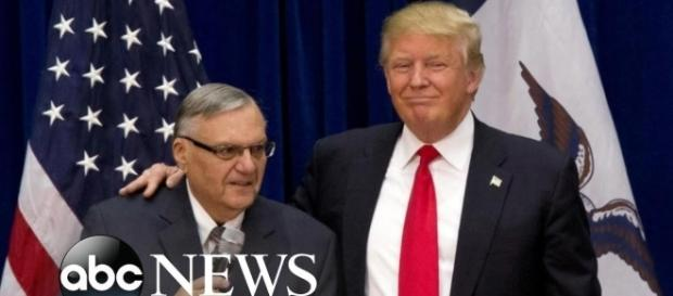 Trump's pardon of Arpiao only dragged down the president's approval rating. Image credit - ABC News/YouTube.