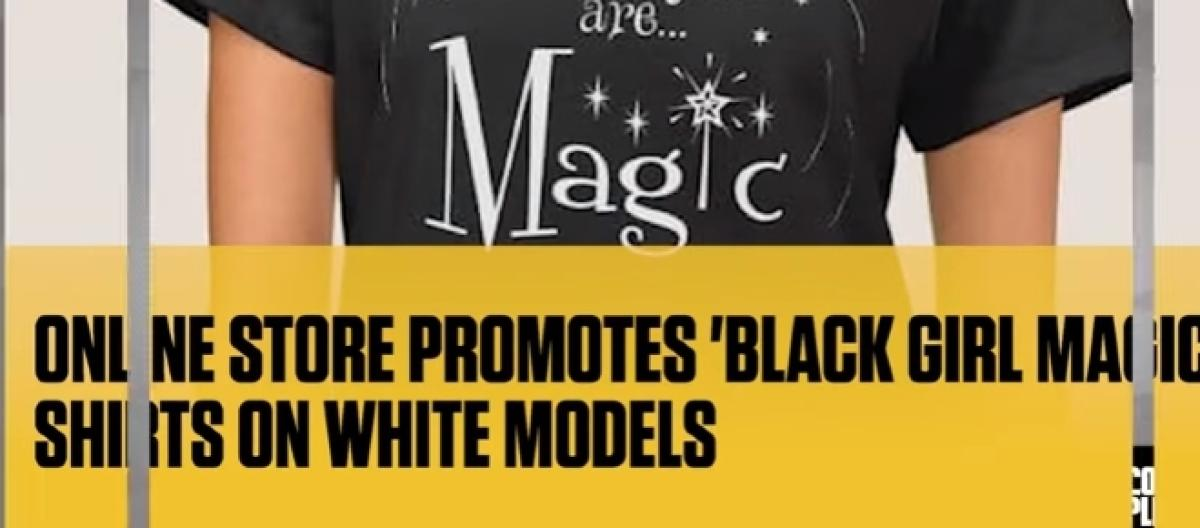 b6528551 Company uses white Models to sell 'Black Girl Magic' T-Shirts