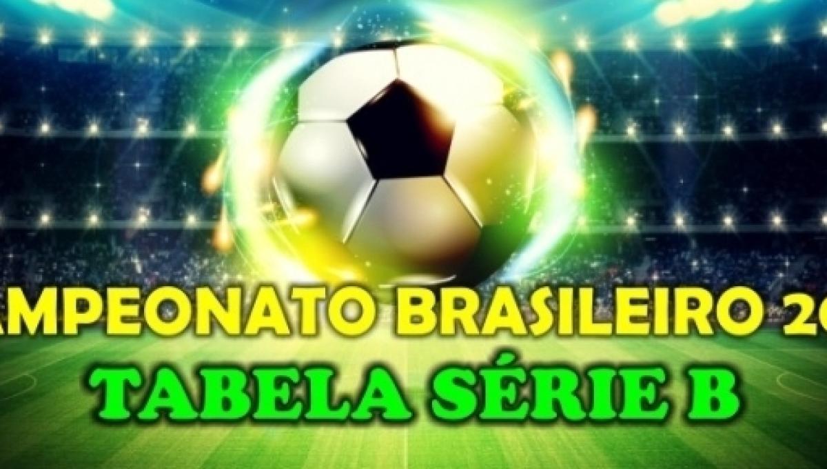 4cd452ae5e Brasileirão Série B  confira a classificação na tabela do Campeonato  Brasileiro