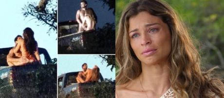 Grazi Massafera e Rafael Cardoso encenam ato sexual para novela e agitam a web