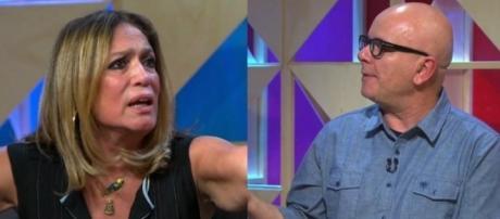 """""""Se eu te mostrar, você vai ficar com vergonha de mim"""", disse Susana, referindo-se às piadas infames ditas por ele no CQC"""