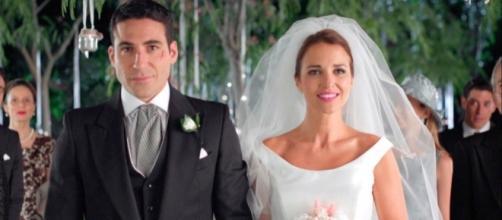 Ana e Alberto convolano a nozze in Velvet4