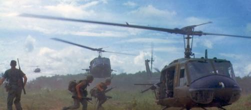 Battle in Vietnam was a no holds war.https://pixabay.com/en/military-vietnam-war-soldiers-1348281/