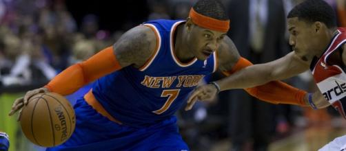 Carmelo Anthony | Knicks at Wizards 11/23/13 | Keith Allison | Flickr - flickr.com