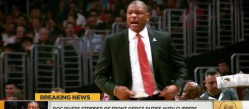 Doc Rivers stripped of front office duties by Clippers - (Image Credit: YouTube| ESPN)