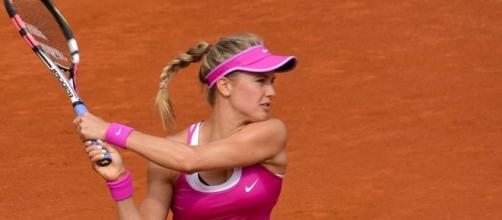 Eugenie Bouchard of Canada (Wikimedia Commons - wikimedia.org)