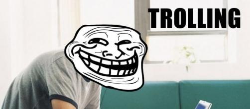 Internet trolling illustration via flickr