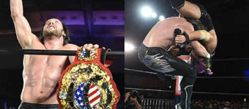 Kenny Omega sigue pisando los talones de Okada en el Grupo B. njpw.co.jp-