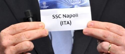Live sorteggio Champions League: le probabili sfidanti del Napoli