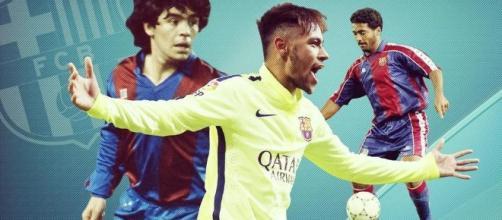 Neymar messo a confronto con i campioni del passato - fcbarcelona.com