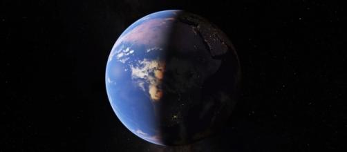 The Google Earth gets a makeover and upgrade. (via NatandFriends/Youtube)