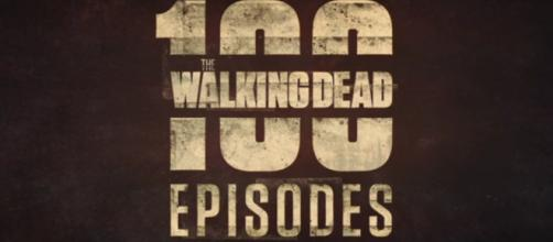 """The Walking Dead"" cast members marked another milestone for reaching its 100th episode on season 8 premiere. Image via YouTube/Foxtel"