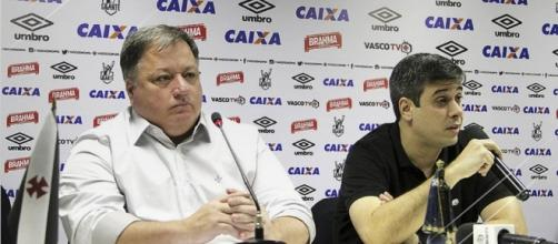 Vasco da Gama: Anderson Barros e Euriquinho, membros da direção do clube