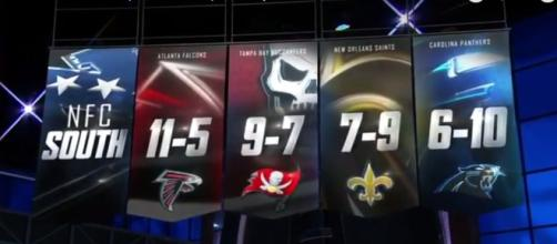 Who will win the NFC South this season? - (Image credit: YouTube| Buckled Tonight)