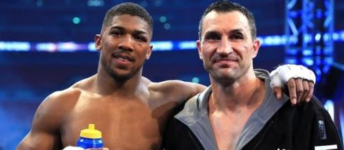 Wladimir Klitschko, Anthony Joshua | https://c1.staticflickr.com/5/4171/34690522245_564c2d7802_b.jpg