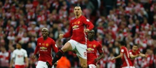 Zlatan Ibrahimovic, svincolato dal Manchester United potrebbe arrivare al Milan