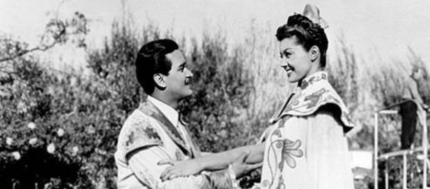 Carlos Ramirez e Esther Williams