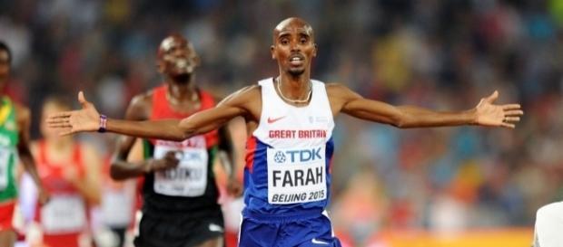 Il britannico Mo Farah a caccia del terzo titolo mondiale sui 10.000 metri