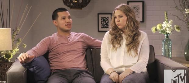 Kailyn Lowry and Javi Marroquin / MTV YouTube Channel