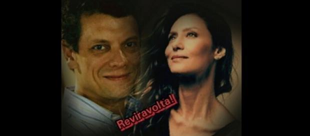 Leandro e Joice em 'A Força do Querer'. (Foto Reprodução)