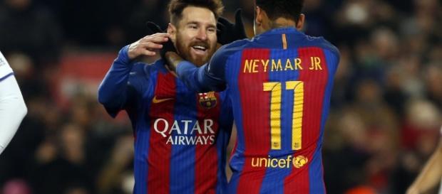 Los 2 genios del Barcelona, el Rey y el que pudo haber sido el heredero.