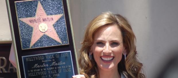 Marlee Matlin on 'Quantico' season 3- Image via Hollywood Walk of Fame | Flickr