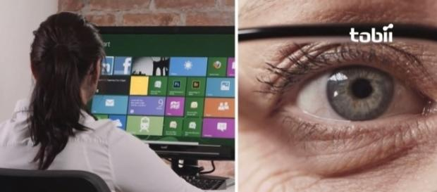 Microsoft's beta version of Eye Control - YouTube/Tobii Gaming