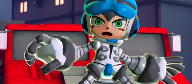 'Mighty No. 9' was a poorly executed crowdfunded game. (image source: YouTube/GameNewsOfficial)
