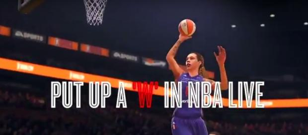 NBA Live 18 will be first ever basketball game to include WNBA roster - (Image credit: YouTube|ShakeDown2012)