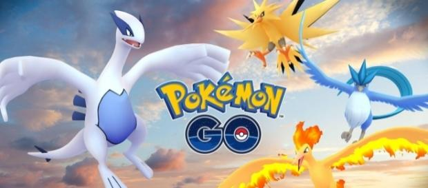 Pokémon GO Like This Page · July 23 · Legendary Pokémon Articuno and Lugia are here! Facebook/Pokemon GO