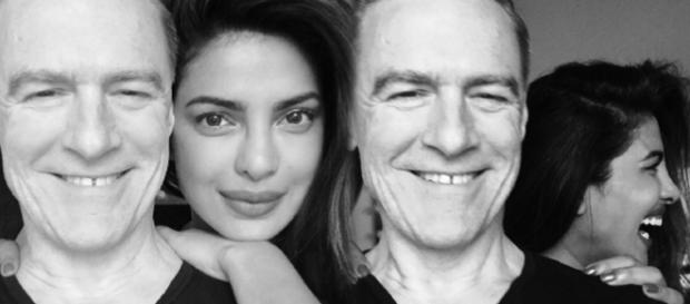 Priyanka Chopra clicks selfies with Bryan Adams - Priyanka Instagram