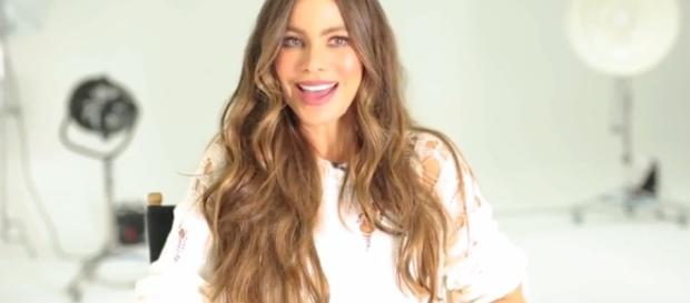 Sofia Vergara posed for complete nude photo at the age 45. Image via YouTube/Women'sHealthUK