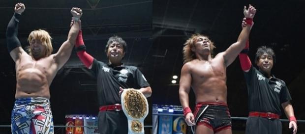 Tanahashi y Naito siguen como líderes del Grupo A del G1 Climax 27 de NJPW. njpw.co.jp.